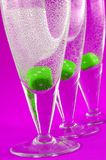 Glasses. Drinks , artistic , colorful , glasses , colored glass Royalty Free Stock Image
