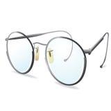 Glasses. Silver eye Glasses. Vector illustration. Element for design. eps10 Royalty Free Stock Photography