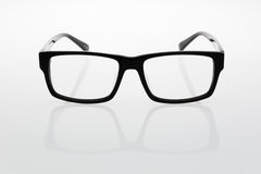 Glasses. The classic shape of the glasses Royalty Free Stock Photography