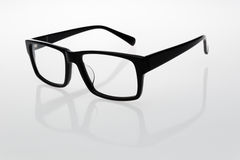 Glasses. The classic shape of the glasses Royalty Free Stock Images