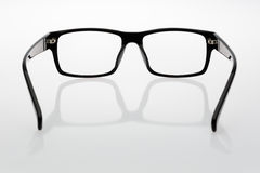Glasses. The classic shape of the glasses Stock Photo