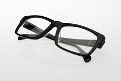Glasses. The classic shape of the glasses Stock Image