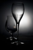 Glasses. Glasses on black and white Stock Photo