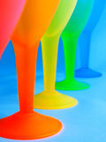 Glasses. Legs of glasses Royalty Free Stock Images