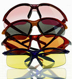Glasses. Sun glasses stock image