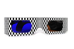 Glasses 3d Royalty Free Stock Photos