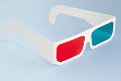 Glasses 3d Royalty Free Stock Images