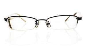 Glasses. On white. See my other images of Royalty Free Stock Photography