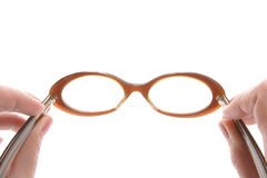 Glasses, 60's Mount Royalty Free Stock Photos