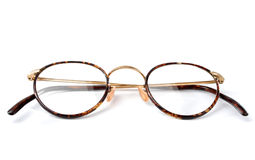 Glasses. Isolated old glasses Stock Images