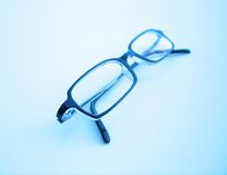 Glasses. My eyeglasses royalty free stock photo