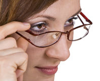 The glasses Royalty Free Stock Images