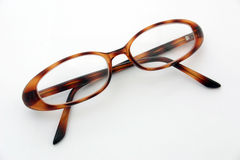 Glasses. Pair of womans reading glasses Stock Photo