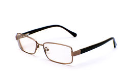 Glasses. Which are represented on a white background Stock Images