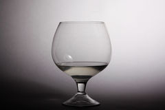 Glasses of alcohol a holiday Royalty Free Stock Photos