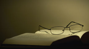 Free Glasses And A Book Stock Photos - 22323733