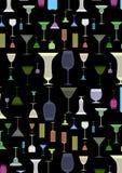 Colorful elegant Glasses background Stock Photos