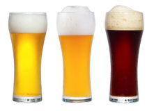 Glasses with beer Stock Image