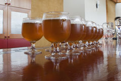 Glasses of Beer Royalty Free Stock Images