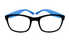 Glasses for eyes on the white background Stock Photography