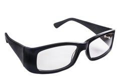 Glasses in black plastic frame Royalty Free Stock Photo