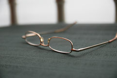 Glasses-blur-focus Royalty Free Stock Photo