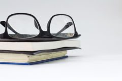 Glasses and book Royalty Free Stock Images