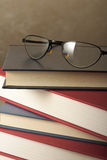 Glasses on Books Royalty Free Stock Photo