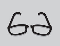 Glasses Broken Royalty Free Stock Images