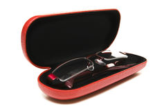 Glasses in case Royalty Free Stock Photography