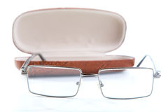 Glasses in a case  Stock Photography