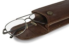 Glasses Case Stock Photography