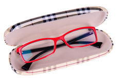 Glasses in a case Royalty Free Stock Images