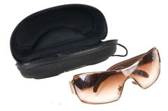Glasses with a case. Stock Photo