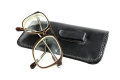 Glasses and Case Stock Image
