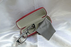 Glasses And Case Stock Images