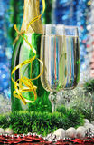 Glasses of a champagne Stock Photo