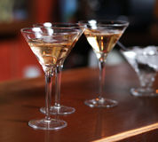 Glasses with champagne Royalty Free Stock Image