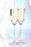 Glasses of champagne Royalty Free Stock Images