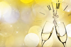 Glasses of champagne Royalty Free Stock Image
