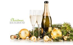 Glasses of champagne Royalty Free Stock Photo