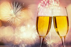 Champagne for holiday royalty free stock images