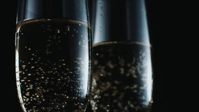 Glasses with champagne