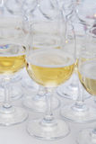 Glasses of champagne Royalty Free Stock Photography