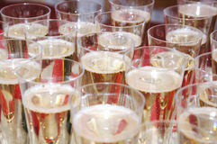 Glasses of champaign Royalty Free Stock Images