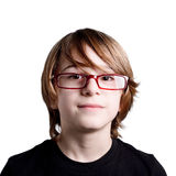 Glasses child Royalty Free Stock Image