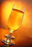 Glasses of cider Stock Image