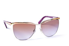 Glasses closeup Stock Photography