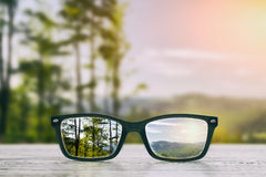 Glasses concepts. Royalty Free Stock Photography