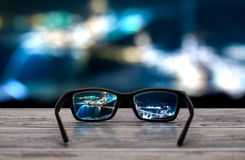 Glasses concepts. Stock Image